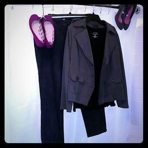 Fun casual cotton blazer from Fashion Bug!